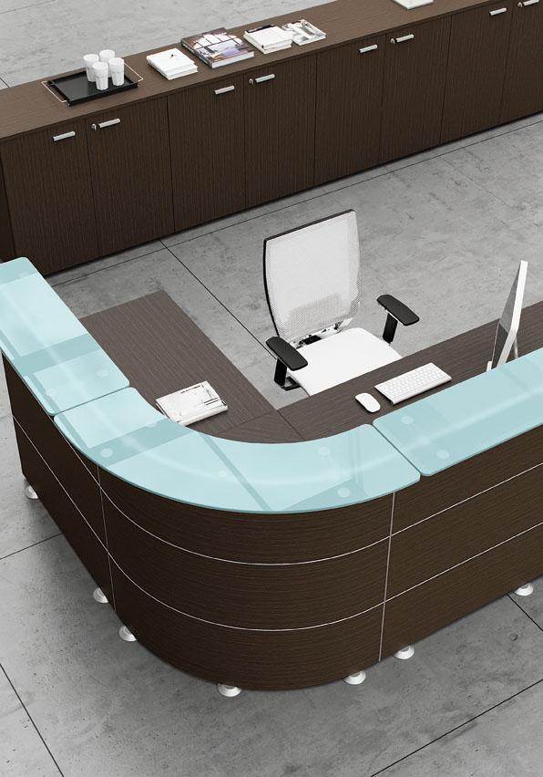 Mobili per ufficio artufficio banconi reception for Mobile reception ufficio